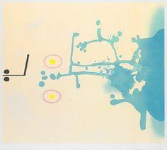 Victor Pasmore, Blue Fantasy, 1986 -