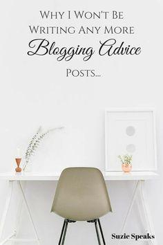 Blogging Advice Posts