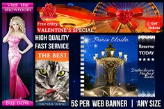design colorful web banner of any size by amysunluvr