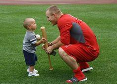 Mikey and his nephew Landon