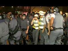 Segundo o governo brasileiro, nada disso realmente aconteceu - violência policial nos protestos