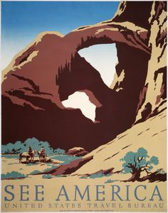WPA national parks poster art