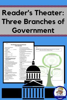 This whole-class style readers theater focuses on the three branches of government (legislative, executive, and judicial) in a fun bootcamp style format! Students are drilled on facts about each branch by their bootcamp sergeant.   A graphic organizer to