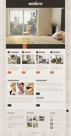 Is this your style?   Interior & Furniture Website Template CLICK HERE! live demo  http://cattemplate.com/template/?go=2cv2tAS