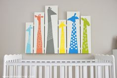 DIY Giraffe Wall Art for Nursery or Kid Room --- Make It and Love It
