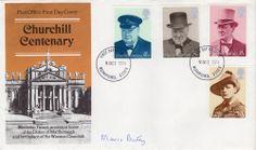 WW2 - Enigma code breaker MAVIS BATEY signed CHURCHILL cover - VERY RARE buy now £60.00