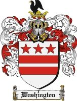 Washington Coat of Arms / Washington Family Crest - The surname of WASHINGTON was a locational name 'of Washington' a parish in County Durham, five miles from Gateshead. There is also a parish so . George Washington Family, Irish Coat Of Arms, Family Shield, Vintage Flag, Flags Of The World, Freedom Of Speech, Family Crest, Crests, Founding Fathers