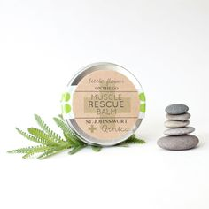 Little Flower Soap Co: Muscle Rescue Balm, 1 oz. Tin  #MarthaStewartAmericanMade #americanmadeebaysweeps