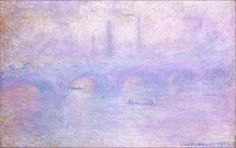 """Claude Monet's """"Waterloo Bridge"""""""