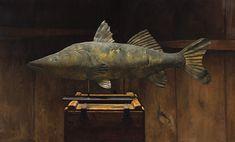 Sarah Lamb | Antique Fish Weathervane