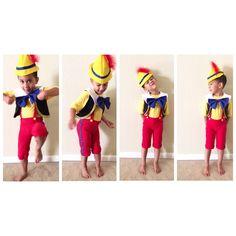Costume de Pinocchio Dress-Up tenue danniversaire