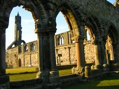 The Cathedral ruins in St. St Andrews, Cathedrals, Study Abroad, Notre Dame, Castles, Places Ive Been, Scotland, Medieval, History