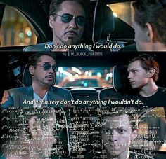 Tony and Peter #spidermanhomecoming