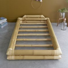 10 Portentous Unique Ideas: Futon Tatami Home futon storage murphy beds.Futon Tatami Home. Bamboo Bed Frame, Futon Bed Frames, Bamboo Sofa, Bamboo Furniture, Fine Furniture, Cheap Furniture, Handmade Home, Diy Projects For Bedroom, Diy Bett