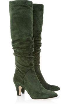 Brian Atwood suede boots*