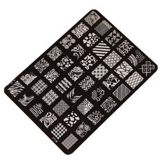 Malloom® Nail Art Decor Nail Stamping Printing Plate Image Stamps: Amazon.co.uk: Beauty