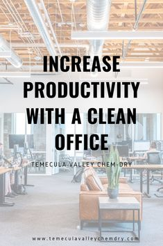 Increase Productivity With Clean Office Temecula Valley, Commercial Carpet Cleaning, Clean Bedroom, Increase Productivity, Bathroom Cleaning, Grout, How To Clean Carpet, Clean House, Cleaning Hacks