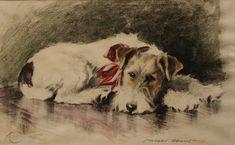 Wire-haired Fox Terrier - Morgan Dennis.