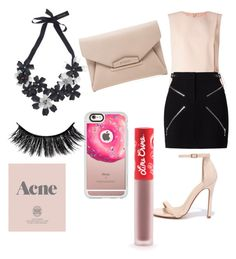 """""""Untitled #48"""" by mary-tshoy ❤ liked on Polyvore featuring beauty, Forest of Chintz, Miss Selfridge, Alexander Wang, Liliana, Lime Crime, Casetify, Prada and Givenchy"""