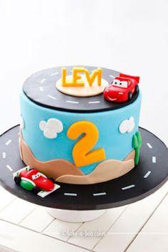 bolo festa carros