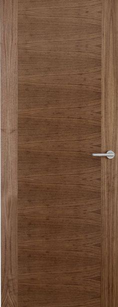 Walnut Veneer Match Flush Doors