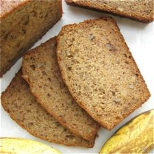 Healthy Banana Bread--I'll add chocolate chips next time