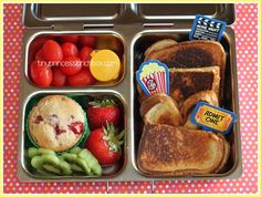 Dinner for outdoor movie in the park night in our Planetbox Launch! #planetbox #bento #dinner #lunch