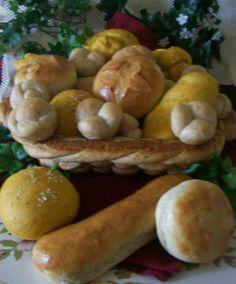 Dozen Home Baked Dinner Rolls by PengwensCottage on Etsy