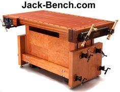 Customizable Adjustable Height Workbench Plans
