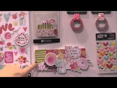 She Blooms Collection - Illustrated Faith by Bella Blvd - CHA Winter 2016 Video