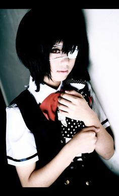 Cosplay of Misaki Mei from Another