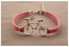 adorable bycicle bracelet