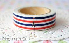 I love Tower Eiffel Washi Tape. Ready to Ship. by pingosdoceu