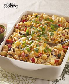 Enchilada Pasta Bake #recipe