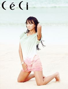 Hyorin // Ceci Korea // May 2013