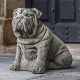 Found it at Wayfair - Antique Bulldog Statue