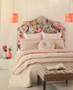 Amazing bedhead & colours.