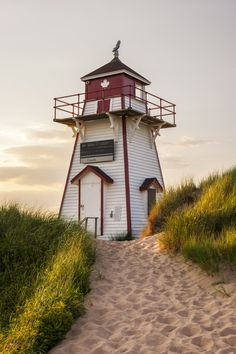 Covehead Harbour Lighthouse, PEI - Covehead Harbour lighthouse, Prince Edward Island, Canada