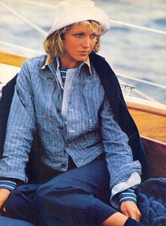 Ralph 1982 - I'd happily wear all of this now!  Love the colors, love the casual style!
