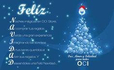 Oci Te Desea Una Feliz Navidad