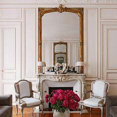 Colorful and Romantic Paris Apartment