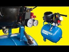 DIY Silent Air Compressor