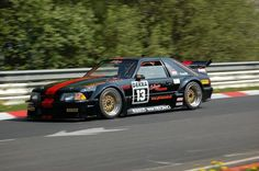 Did you know the Fox raced in Germany? This is an actual privately-owned 1986 Ford Mustang DTM! Ford Mustang Fox Body, Ford Mustang Shelby, Mustang Cars, Widebody Mustang, Mustang Svo, Us Cars, Sport Cars, Race Cars, American Auto