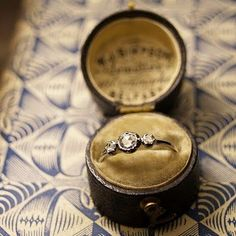 Love The Antique Box And The Ring Is Gorgeous #wedding, #weddings, #pinsland, https://apps.facebook.com/yangutu