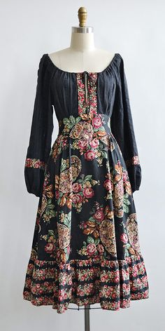 Wandering Spirit Dress | vintage 1970s boho dress from Adored Vintage