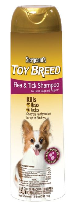 Sergeant's Flea and Tick Shampoo Toy Breed 12-Ounce >>> Visit the image link more details. (This is an Amazon affiliate link)