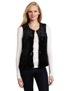AK Anne Klein Women`s Faux Fur Vest $90.42