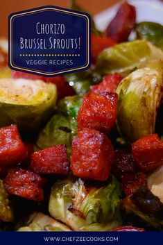 Brussel Sprouts are one of those veggies that had a moment in 2014 and It seemed like for two years, all… Cuban Recipes, Veggie Recipes, Crockpot Recipes, Keto Recipes, Yummy Recipes, Sprouts Recipe, Dominican Food, Latin Food, One Pot Meals