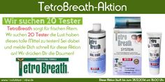 TetroBreath®-Aktion - Produkttest-Online