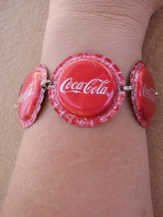 Coca Cola Bottle Cap Bracelet